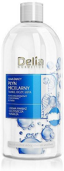 Feuchtigkeitsspendendes Mizellen-Reinigungswasser - Delia Hialuron Micellar Water