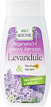 Düfte, Parfümerie und Kosmetik Regenerierendes Shampoo - Bione Cosmetics Lavender Regenerative Hair Shampoo