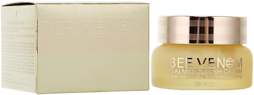 Beruhigende Gesichtscreme mit Bienengift - Mizon Bee Venom Calming Fresh Cream