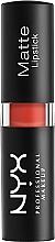 Düfte, Parfümerie und Kosmetik Matter Lippenstift - NYX Professional Makeup Matte Lipstick