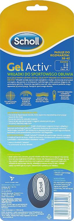 Gel-Einlegesohlen für Sportschuhe - Scholl Gel Activ Insole Sport Woman — Bild N3