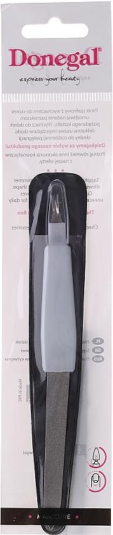 2in1 Nagelhautschneider und Saphirfeile 15 cm 2059 weiß - Donegal