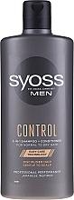 Düfte, Parfümerie und Kosmetik 2in1 Shampoo und Haarspülung für Männer - Syoss Men Control 2-in-1 Shampoo-Conditioner
