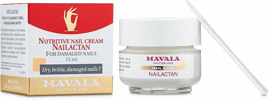 Nährcreme für brüchige und beschädigte Nägel - Mavala Nailactan