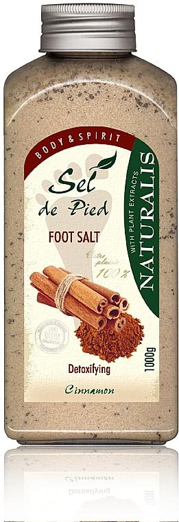 Detox Fußbadesalz mit Zimt - Naturalis Sep de Pied Cinnamon Foot Salt