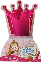 Düfte, Parfümerie und Kosmetik Kinder-Nagellack mit Erdbeerduft, abwaschbar mit Wasser - Chlapu Chlap Nail Polish