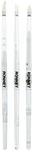 Düfte, Parfümerie und Kosmetik Manikürepinsel-Set RN 00474 3 St. - Ronney Professional