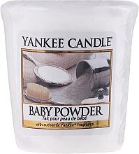 Düfte, Parfümerie und Kosmetik Votivkerze Baby Powder - Yankee Candle Baby Powder Sampler Votive