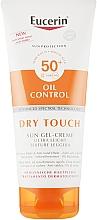 Düfte, Parfümerie und Kosmetik Sonnenschutz für den Körper mit ultraleichter Textur LSF 50+ - Eucerin Oil Control Dry Touch Sun Gel-Cream SPF50+