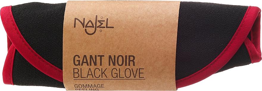 Peeling-Handschuh - Najel Black Kassa