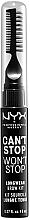 Düfte, Parfümerie und Kosmetik 3in1 Augenbrauen Make-up - NYX Professional Makeup Can't Stop Won't Stop Longwear Brow Kit