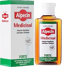 Düfte, Parfümerie und Kosmetik Intensives Kopfhaut- und Haartonikum bei Schuppen, fettigem Haar und Haarausfall - Alpecin Medical Forte