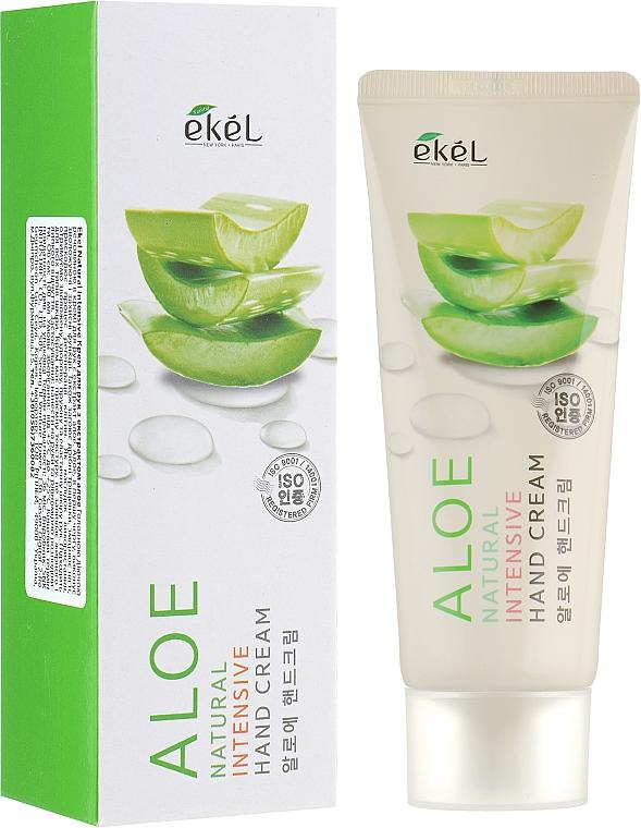 Intensive Handcreme mit Aloe-Extrakt - Ekel Natural Intensive Aloe Hand Cream