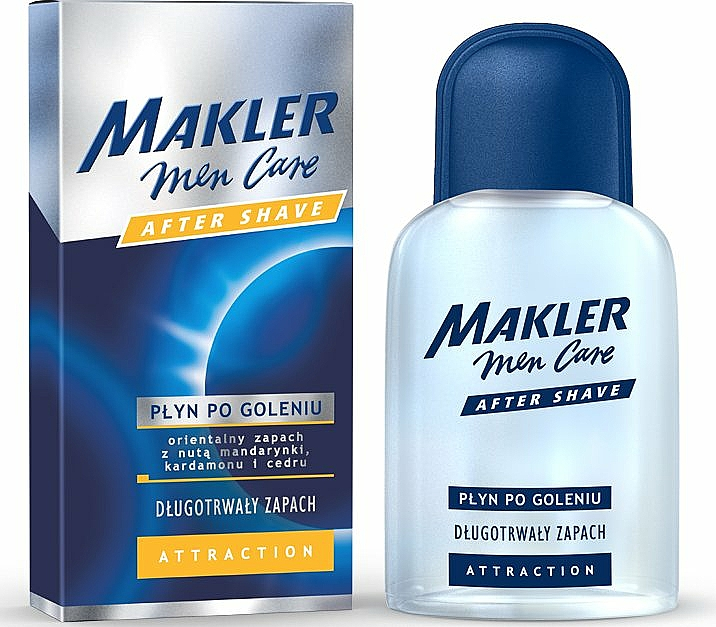 After Shave Lotion - Makler Attraction After Shave