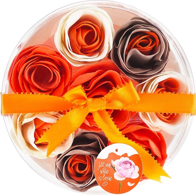 Seifenkonfetti mit Orangenduft 8 St. - Spa Moments Bath Confetti Orange