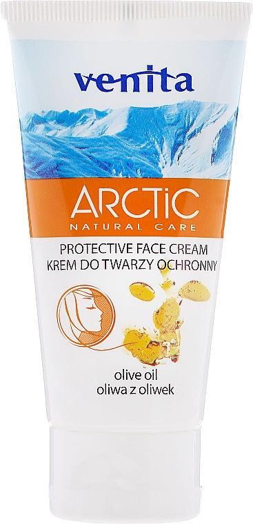 Wintercreme für das Gesicht mit Olivenöl - Venita Arctic Protective Face Cream Olive Oil