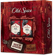 Düfte, Parfümerie und Kosmetik Körperpflegeset - Old Spice Rock Adventurer (Deostick 50g + Duschgel 250ml)