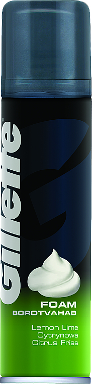 "Rasierschaum ""Lemon"" - Gillette Classic Lemon Lime Shave Foam for Men"