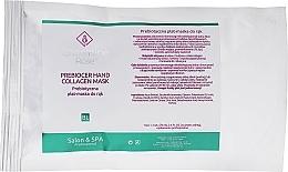 Düfte, Parfümerie und Kosmetik Präbiotische Tuchmaske für Hände - Charmine Rose Prebiocer Hand Collagen Mask