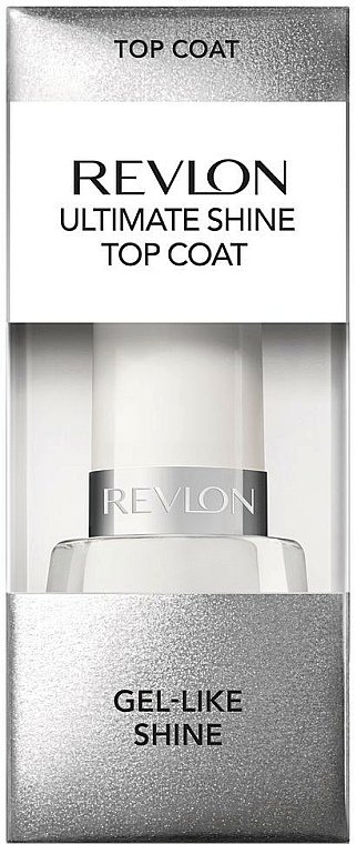 Glättender und hochglänzender Nagelüberlack - Revlon Ultimate Shine Top Coat — Bild N1
