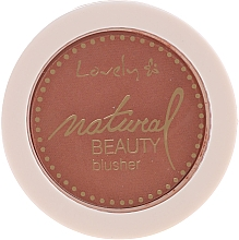 Düfte, Parfümerie und Kosmetik Kompakt-Rouge - Lovely Natural Beauty Blusher