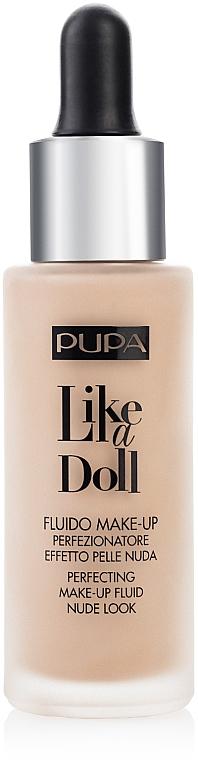 Foundation Fluid - Pupa Like a Doll Perfecting Make-up Fluid Nude Look