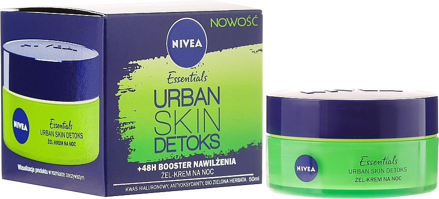Feuchtigkeitsspendende Detox Nachtcreme - Nivea Essentials Urban Skin Detox Night Cream
