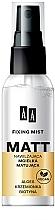 Düfte, Parfümerie und Kosmetik Mattierendes Fixierspray für das Gesicht - AA Matt Fixing Mist