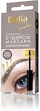 Düfte, Parfümerie und Kosmetik Cremige Wimperntusche - Delia Creamy Eyebrow Mascara