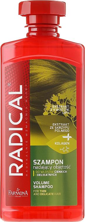 Shampoo für mehr Volumen - Farmona Radical Volume Shampoo — Bild N1