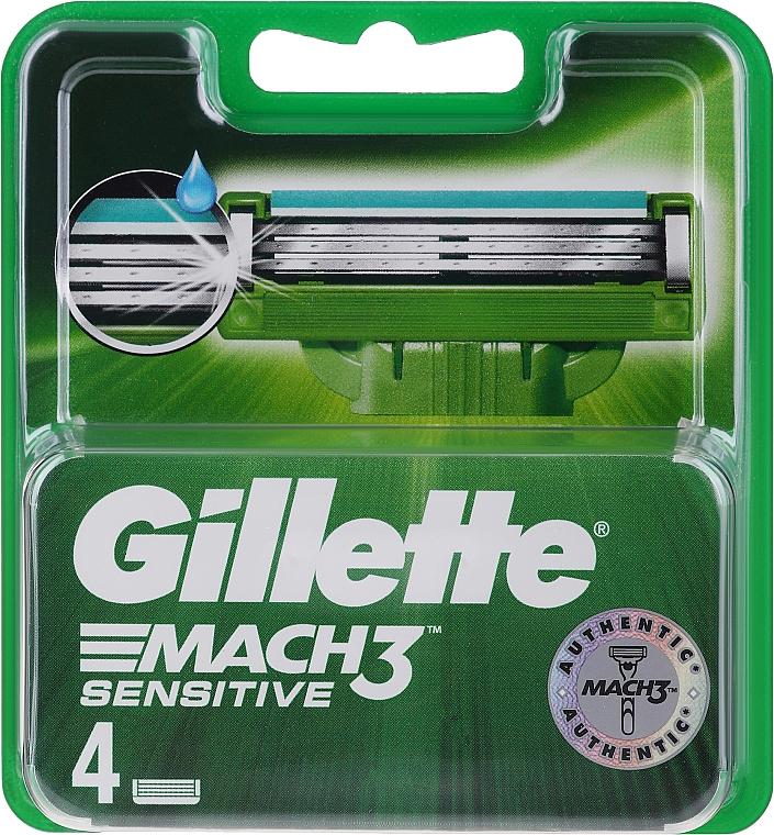 Gillette Fusion ProGlide Ersatzklingen - Gillette Mach3 Sensitive