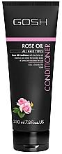 Düfte, Parfümerie und Kosmetik Haarspülung mit Rosenöl für alle Haartypen - Gosh Rose Oil Conditioner
