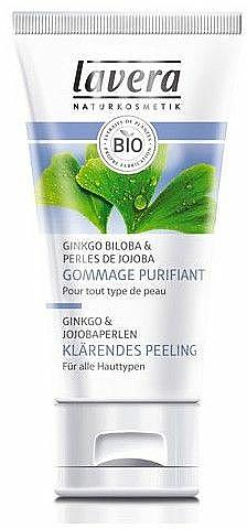 Ginko & Jojoba Perlen Klärendes Peeling - Lavera Gommage Purifiant