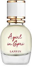 Düfte, Parfümerie und Kosmetik Lanvin A Girl in Capri - Eau de Toilette
