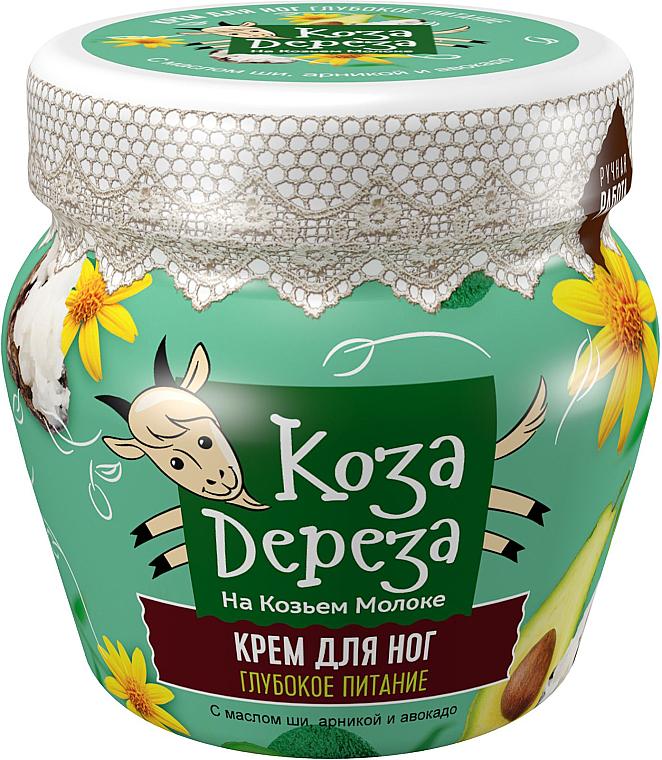 Nahrungsreiche Fußcreme - Fito Kosmetik Koza Dereza