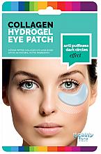 Düfte, Parfümerie und Kosmetik Kollagenmaske für die Haut unter den Augen gegen dunkle Ringe und Schwellungen - Beauty Face Collagen Hydrogel Eye Mask