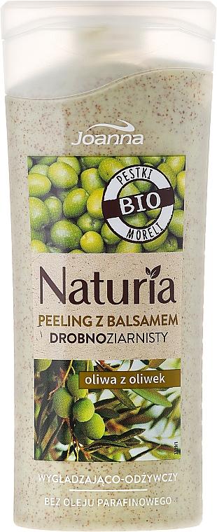 Glättendes und pflegendes Körperpeeling mit Olivenöl - Joanna Naturia Peeling