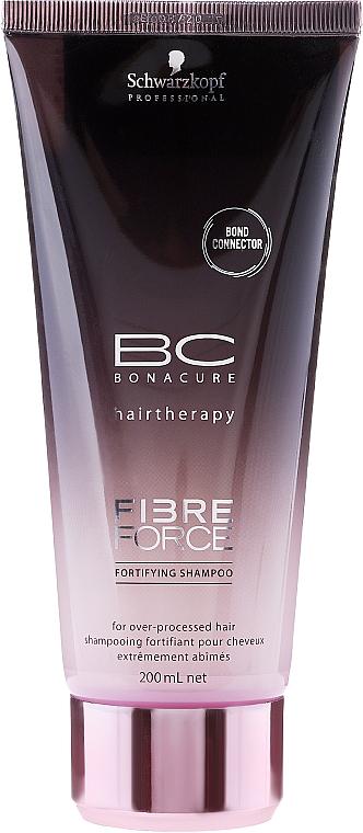 Stärkendes Shampoo für behandeltes Haar - Schwarzkopf Professional BC Fibre Force Fortifying Shampoo