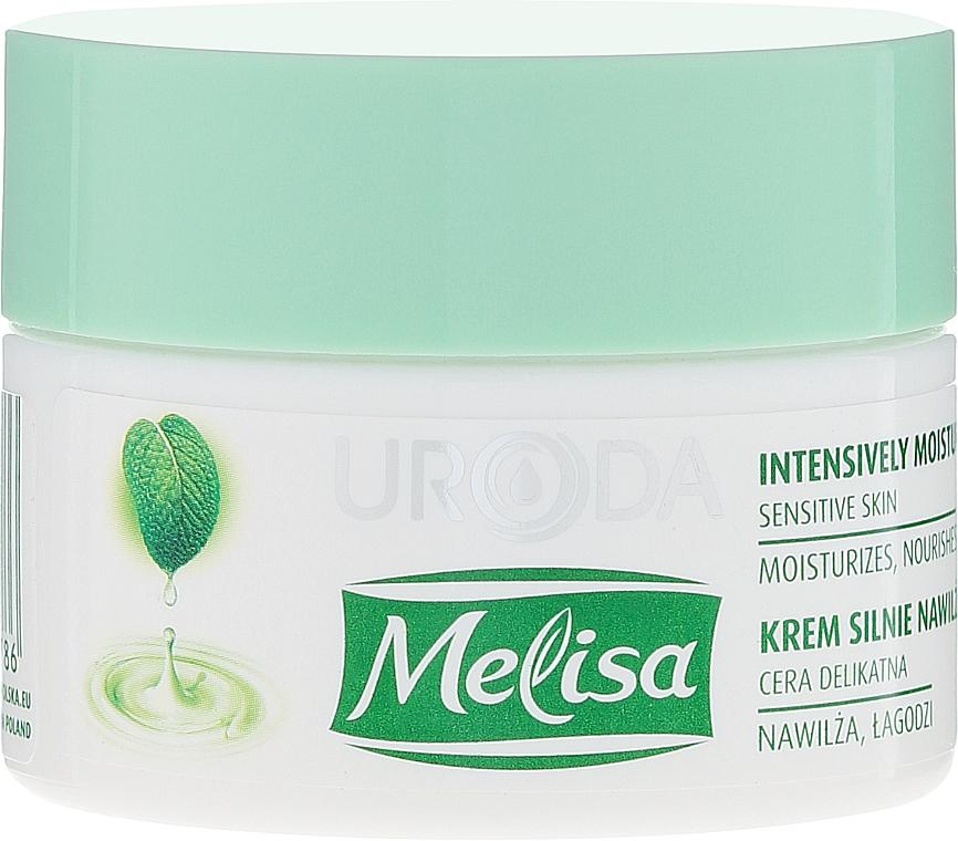 Intensiv feuchtigkeitsspendende Gesichtscreme - Uroda Melisa Face Cream