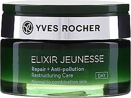 Düfte, Parfümerie und Kosmetik Restrukturierende Tagescreme mit Aphloia-Extrakt für normale und Mischhaut - Yves Rocher Elixir Jeunesse Cream