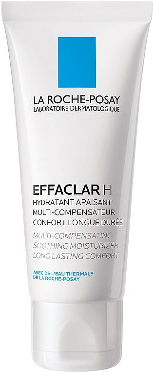 Beruhigende Gesichtscreme für empfindliche und zu Akne neigende Haut - La Roche-Posay Effaclar H Hydratant Compensateur — Bild N2