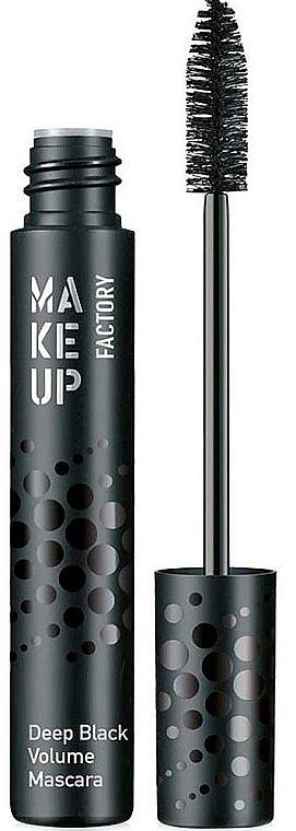 Wimperntusche für mehr Volumen - MuF Deep Black Volume Mascara — Bild N1