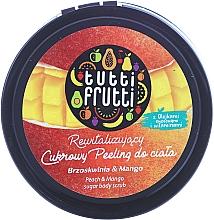 Düfte, Parfümerie und Kosmetik Zucker-Körperpeeling mit Pfirsich und Mango - Farmona Tutti Frutti Sugar Scrub