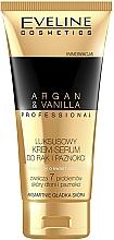 Düfte, Parfümerie und Kosmetik Creme-Serum für Hände und Nägel mit Argan und Vanille - Eveline Cosmetics Spa Professional Argan&Vanilla