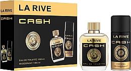 Düfte, Parfümerie und Kosmetik La Rive Cash - Duftset (Eau de Toilette/100ml + Deodorant/150ml)