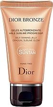 Düfte, Parfümerie und Kosmetik Selbstbräuner für das Gesicht - Dior Bronze Self-Tanning Jelly Face