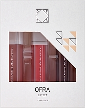 Düfte, Parfümerie und Kosmetik Lippenset (Flüssiger Lippenstift 3x8g) - Ofra Nikkie Tutorials Lip Set