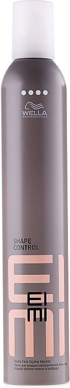 Extra Firm Styling Mousse - Wella Professionals EIMI Styling Shape Control