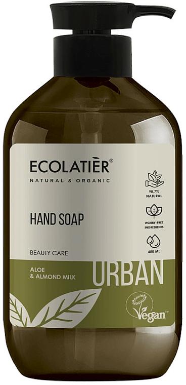 Flüssige Handseife mit Aloe und Mandelmilch - Ecolatier Urban Liquid Soap