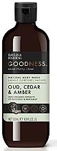Düfte, Parfümerie und Kosmetik Duschgel Zeder & Bernstein - Baylis & Harding Goodness Oud, Cedar & Amber Body Wash